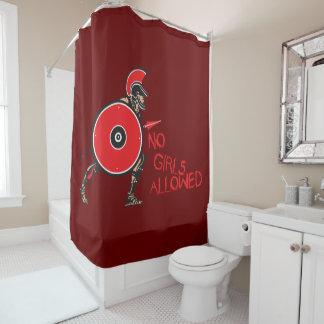 No Girls Allowed! Shower Curtain
