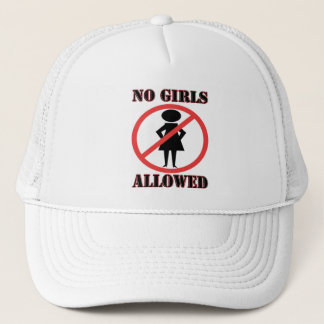 No Girls Allowed Trucker Hat