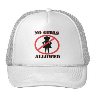 No Girls Allowed Trucker Hat