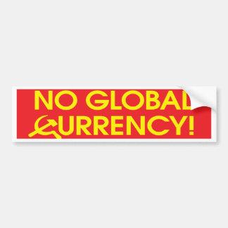 no_global_currency_bmprstkr pegatina de parachoque