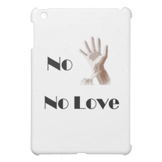 No Glove No Love iPad iPad Mini Cover
