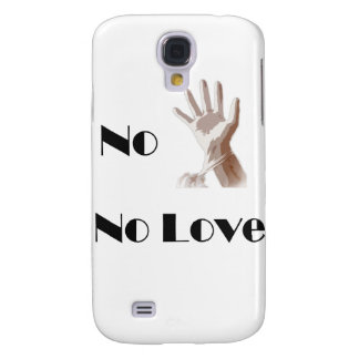 No Glove No Love iPhone 3 Case
