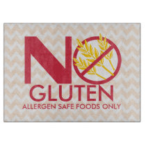 No Gluten or Wheat Safe cutting board