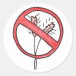 No gluten/Wheat Free! Classic Round Sticker