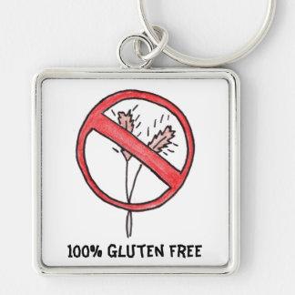 No gluten/Wheat Free! Keychain