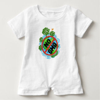 NO GMO BABY ROMPER