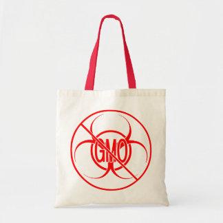 No GMO Bags Bio Hazard No GMO Shopping Bags