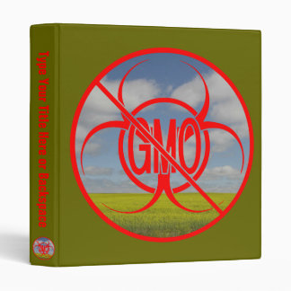 NO GMO Binder Biohazard GMO Photo Album Customize