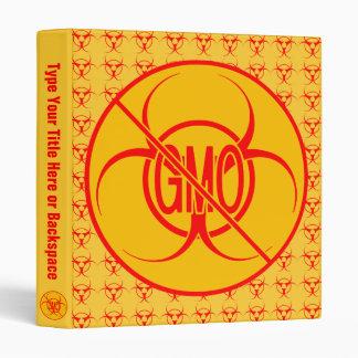 NO GMO Binder Biohazard GMO Photo Album Customize