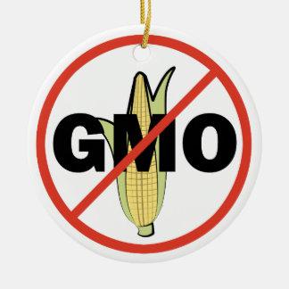 No GMO Ceramic Ornament