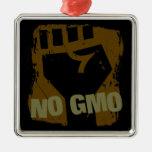 NO GMO Fist Christmas Tree Ornaments