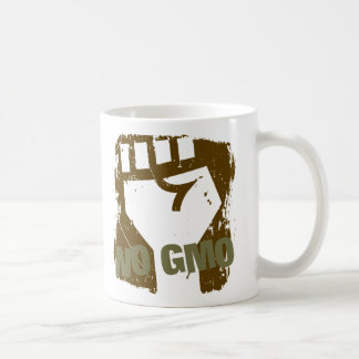 NO GMO Fist Coffee Mug