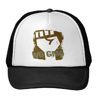 NO GMO Fist Trucker Hat