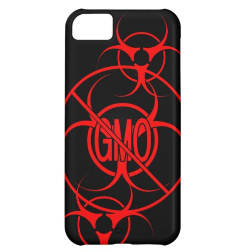 No GMO iPhone Case Biohazard GMO iPhone 5 Case