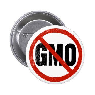 No GMO Non GMO March Against Monsanto Pinback Button