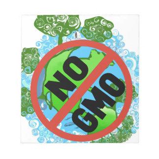 NO GMO NOTE PAD