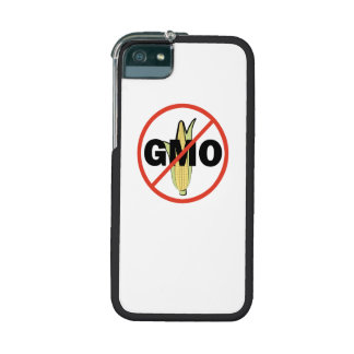 No GMO - On White iPhone 5/5S Covers