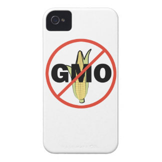 No GMO - On White iPhone 4 Covers