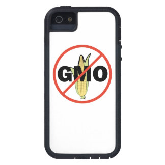 No GMO - On White iPhone 5 Case