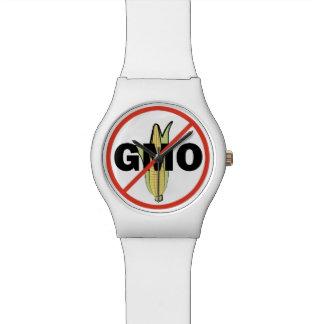 No GMO - On White Watches