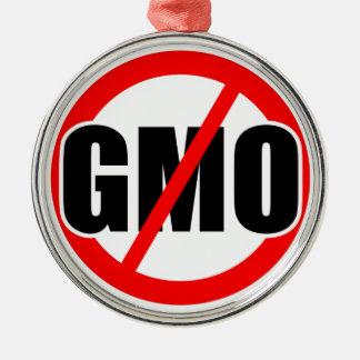 NO GMO - organic/mansanto/activism/protest/farming Metal Ornament