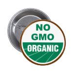 No GMO Organic Pin