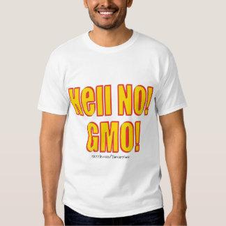 ¡No! ¡GMO! Remeras