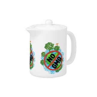 NO GMO TEAPOT