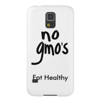 """No GMO's Eat Healthy White with Black Promotion Galaxy S5 Cover"