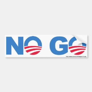 No Go Bumper Sticker Car Bumper Sticker