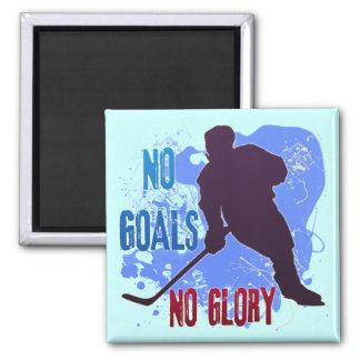 NO GOALS NO GLORY MAGNET