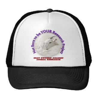No Goat Research Trucker Hat