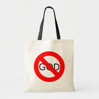No God Anti God Tote Bag