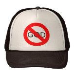No God Anti God Trucker Hat