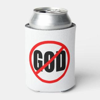 """""""NO GOD"""" CAN COOLER"""