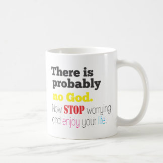no god coffee mug