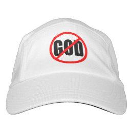"""""""NO GOD"""" HAT"""