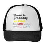 no god mesh hats