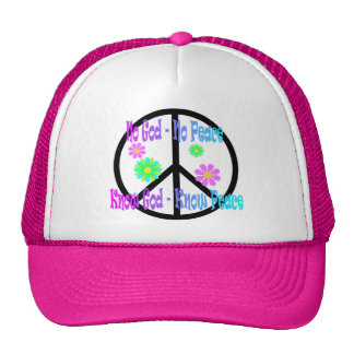 No God No Peace, Know God Know Peace gift Trucker Hats