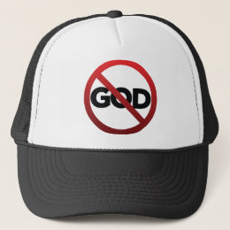 No God Trucker Hat