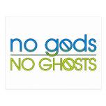 No Gods. No Ghosts. Postcard