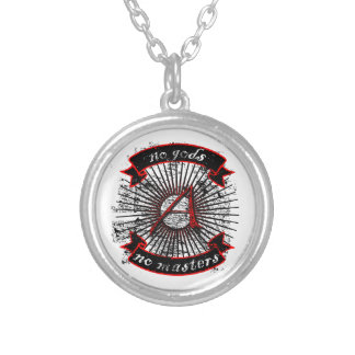 No Gods, No Masters Silver Plated Necklace