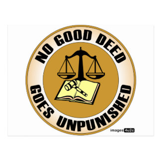 no good deed goes unpunished post cards