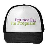 No gordo embarazada gorros