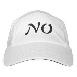 no gorra de alto rendimiento