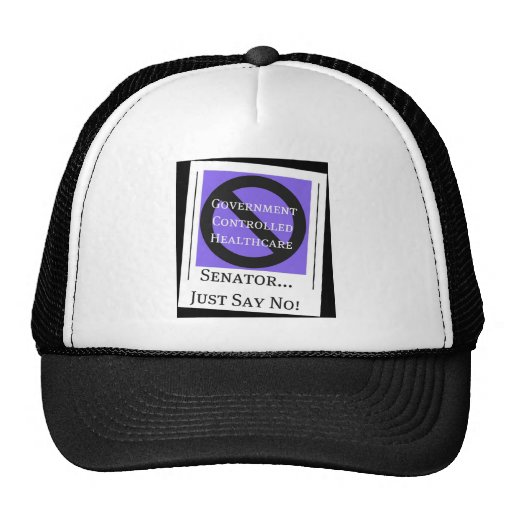 No Government Controlled Healthcare Hat