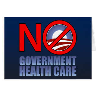 No Government Health Care Card