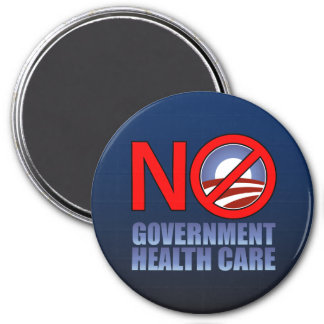 No Government Health Care Magnet