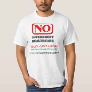 No Government Health Care - T-Shirt