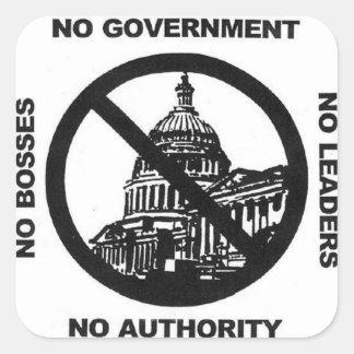 no government sticker
